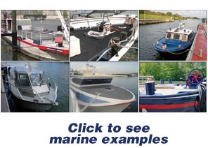 Examples of marine applications with Protectakote